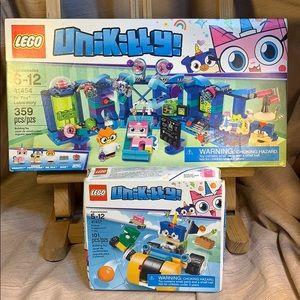 LEGO bundle 41454 & 41452 Unikitty Dr. Fox Prince